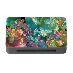 Butterflies, Bubbles, And Flowers Memory Card Reader With Cf by WolfepawFractals