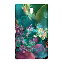 Butterflies, Bubbles, And Flowers Samsung Galaxy Tab S (8 4 ) Hardshell Case  by WolfepawFractals