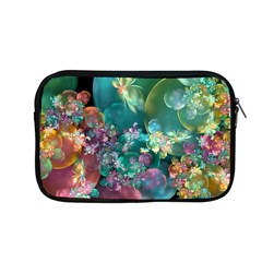 Butterflies, Bubbles, And Flowers Apple Macbook Pro 13  Zipper Case by WolfepawFractals