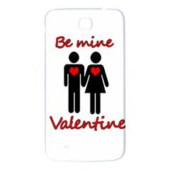 Be Mine Valentine Samsung Galaxy Mega I9200 Hardshell Back Case by Valentinaart