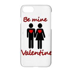 Be Mine Valentine Apple Iphone 7 Hardshell Case by Valentinaart