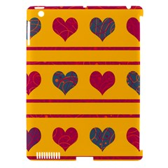 Decorative Harts Pattern Apple Ipad 3/4 Hardshell Case (compatible With Smart Cover) by Valentinaart