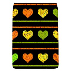 Colorful Harts Pattern Flap Covers (l)  by Valentinaart