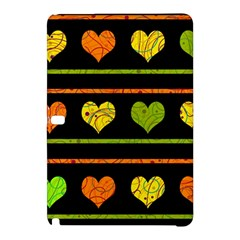 Colorful Harts Pattern Samsung Galaxy Tab Pro 10 1 Hardshell Case by Valentinaart