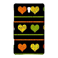 Colorful Harts Pattern Samsung Galaxy Tab S (8 4 ) Hardshell Case  by Valentinaart
