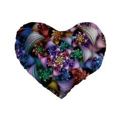 Pong Synth Curl Amorina 02 Whiskey 01 Peggi 05 Pstl Pz Pix Standard 16  Premium Heart Shape Cushions by WolfepawFractals
