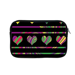 Colorful Harts Pattern Apple Macbook Pro 13  Zipper Case by Valentinaart
