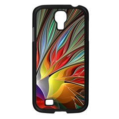 Fractal Bird Of Paradise Samsung Galaxy S4 I9500/ I9505 Case (black) by WolfepawFractals