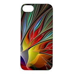 Fractal Bird Of Paradise Apple Iphone 5s/ Se Hardshell Case by WolfepawFractals