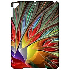 Fractal Bird Of Paradise Apple Ipad Pro 9 7   Hardshell Case by WolfepawFractals