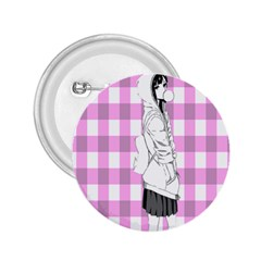 Cute Anime Girl 2 25  Buttons by Brittlevirginclothing