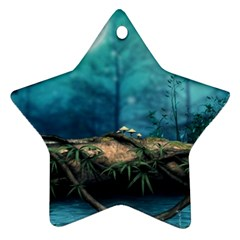 Fantasy Nature  Ornament (star)  by Brittlevirginclothing