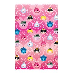 Alice In Wonderland Shower Curtain 48  X 72  (small)  by reddyedesign