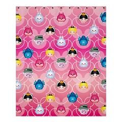 Alice In Wonderland Shower Curtain 60  X 72  (medium)  by reddyedesign