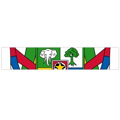 Coat Of Arms Of The Central African Republic Flano Scarf (large) by abbeyz71