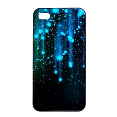 Abstract Stars Falling  Apple Iphone 4/4s Seamless Case (black) by Brittlevirginclothing