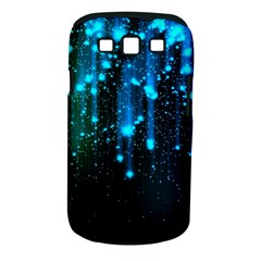 Abstract Stars Falling  Samsung Galaxy S Iii Classic Hardshell Case (pc+silicone) by Brittlevirginclothing