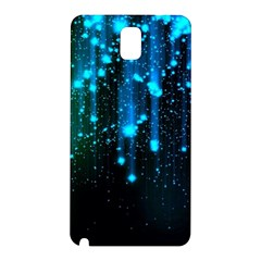 Abstract Stars Falling  Samsung Galaxy Note 3 N9005 Hardshell Back Case by Brittlevirginclothing