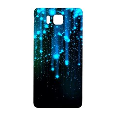 Abstract Stars Falling  Samsung Galaxy Alpha Hardshell Back Case by Brittlevirginclothing