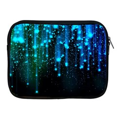 Abstract Stars Falling  Apple Ipad 2/3/4 Zipper Cases by Brittlevirginclothing