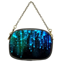 Abstract Stars Falling  Chain Purses (one Side)  by Brittlevirginclothing