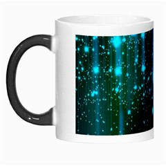 Abstract Stars Falling Morph Mugs by Brittlevirginclothing