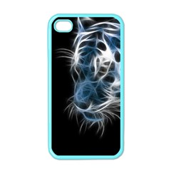 Ghost Tiger Apple Iphone 4 Case (color) by Brittlevirginclothing
