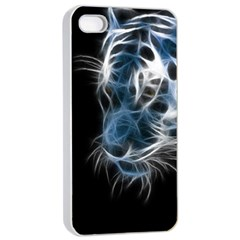 Ghost Tiger Apple Iphone 4/4s Seamless Case (white) by Brittlevirginclothing