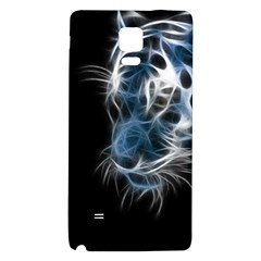 Ghost Tiger Galaxy Note 4 Back Case by Brittlevirginclothing