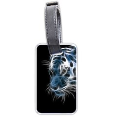 Ghost Tiger Luggage Tags (two Sides) by Brittlevirginclothing