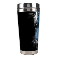Ghost Tiger Stainless Steel Travel Tumblers by Brittlevirginclothing