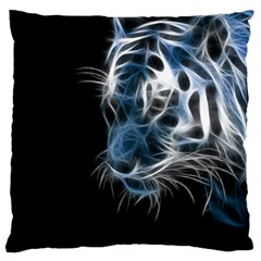Ghost Tiger Standard Flano Cushion Case (two Sides) by Brittlevirginclothing