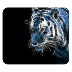 Ghost Tiger Double Sided Flano Blanket (small)  by Brittlevirginclothing