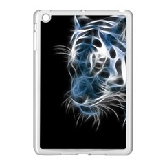 Ghost Tiger Apple Ipad Mini Case (white) by Brittlevirginclothing