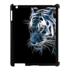 Ghost Tiger Apple Ipad 3/4 Case (black) by Brittlevirginclothing