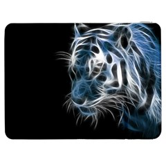 Ghost Tiger Samsung Galaxy Tab 7  P1000 Flip Case by Brittlevirginclothing
