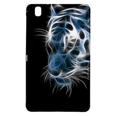 Ghost Tiger Samsung Galaxy Tab Pro 8 4 Hardshell Case by Brittlevirginclothing