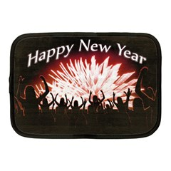 Happy New Year Design Netbook Case (medium)  by dflcprints