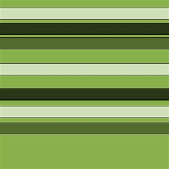Greenery Stripes Pattern Horizontal Stripe Shades Of Spring Green Magic Photo Cubes by yoursparklingshop