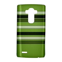 Greenery Stripes Pattern Horizontal Stripe Shades Of Spring Green Lg G4 Hardshell Case by yoursparklingshop