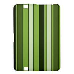 Greenery Stripes Pattern 8000 Vertical Stripe Shades Of Spring Green Color Kindle Fire Hd 8 9  by yoursparklingshop