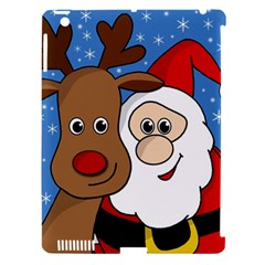 Christmas Selfie Apple Ipad 3/4 Hardshell Case (compatible With Smart Cover) by Valentinaart