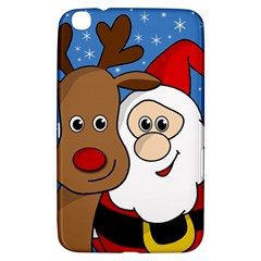Christmas Selfie Samsung Galaxy Tab 3 (8 ) T3100 Hardshell Case  by Valentinaart