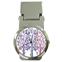 Magical Pastel Trees Money Clip Watches by Valentinaart