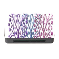 Magical Pastel Trees Memory Card Reader With Cf by Valentinaart