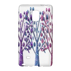Magical Pastel Trees Galaxy Note Edge by Valentinaart