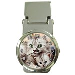 KITTEN & MOM MONEY CLIP WATCH