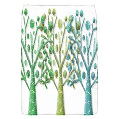 Magical Green Trees Flap Covers (s)  by Valentinaart