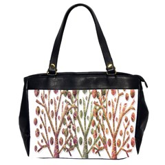 Magical Autumn Trees Office Handbags (2 Sides)  by Valentinaart
