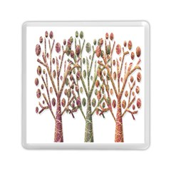 Magical Autumn Trees Memory Card Reader (square)  by Valentinaart